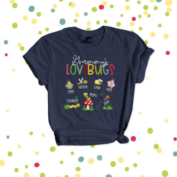 Grammy's lovebugs DARK Tshirt