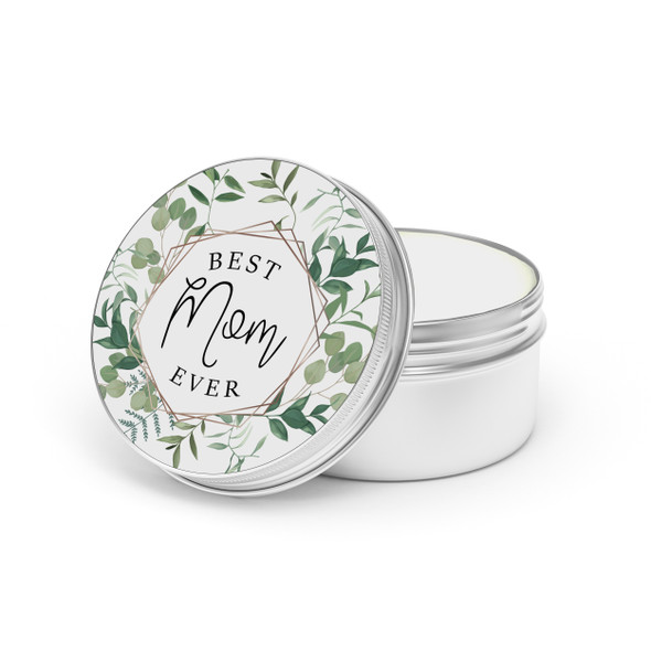 Mother's Day best mom ever soy wax candle tin