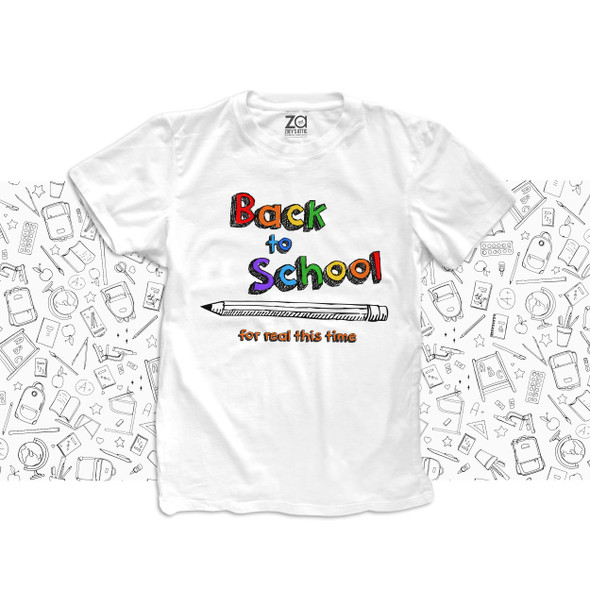 Student back to school for real this time post pandemic Tshirt