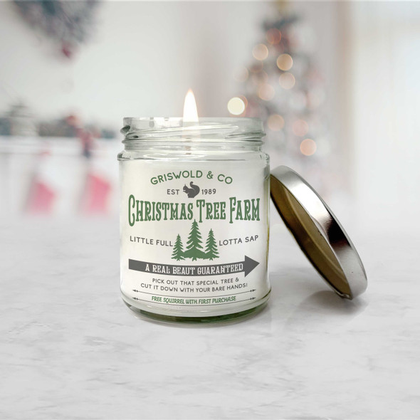 Griswold & Co christmas tree farm a real beaut soy blend wax candle