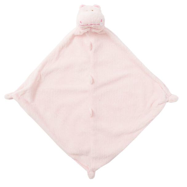 Pink Hippo Blankie Lovie by Angel Dear