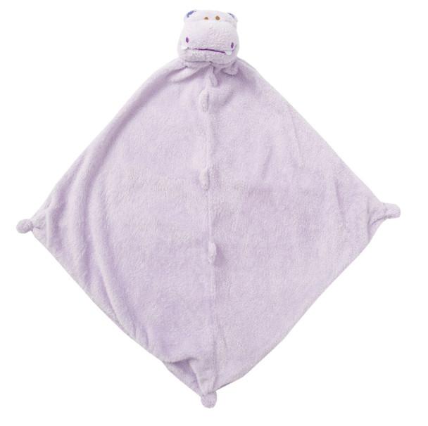 Purple Hippo Blankie Lovie by Angel Dear