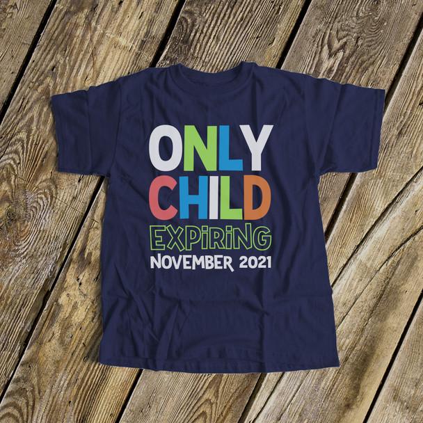 Big brother only child expiring DARK Tshirt