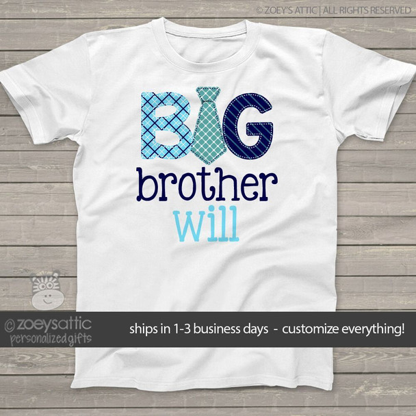 Big brother tie Tshirt