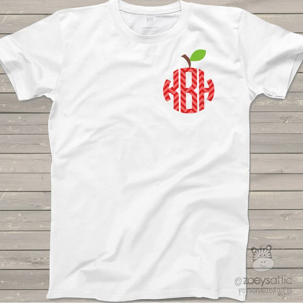 Monogram apple ADULT Tshirt