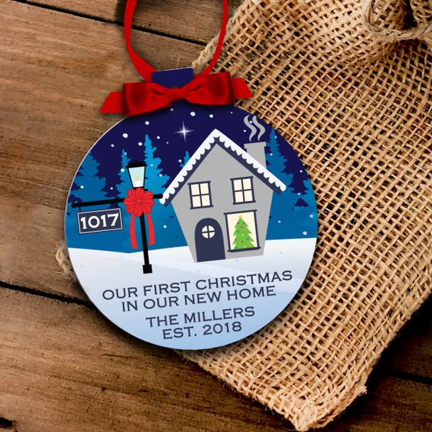 First home Christmas ornament