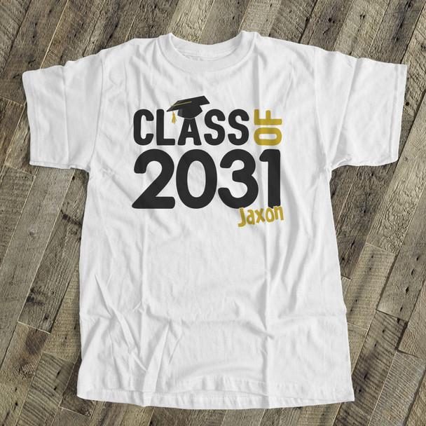 Class of (any year) graduation Tshirt