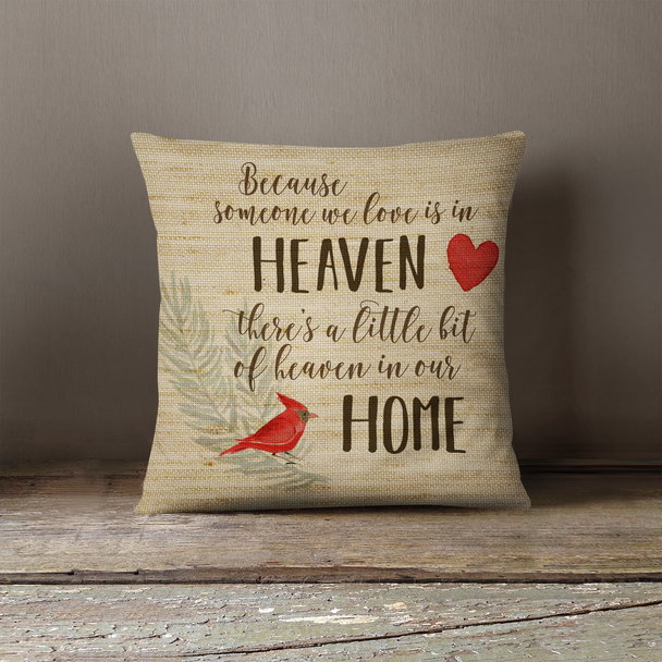 Someone we love memorial remembrance pillowcase pillow