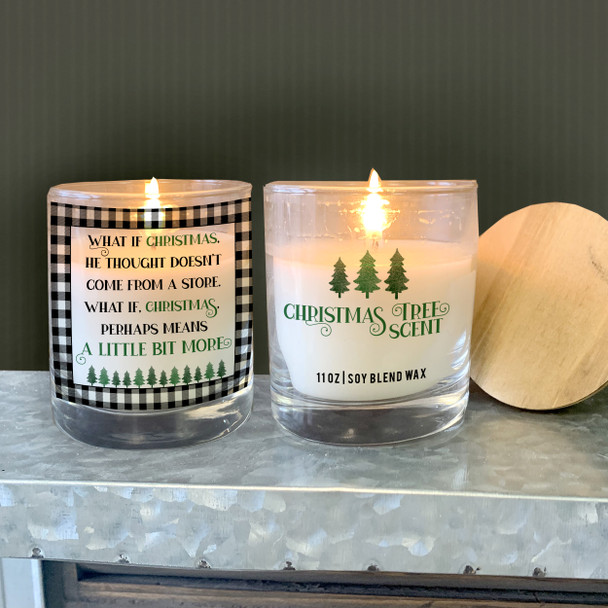 What if Christmas perhaps means a little bit more soy blend wax candle