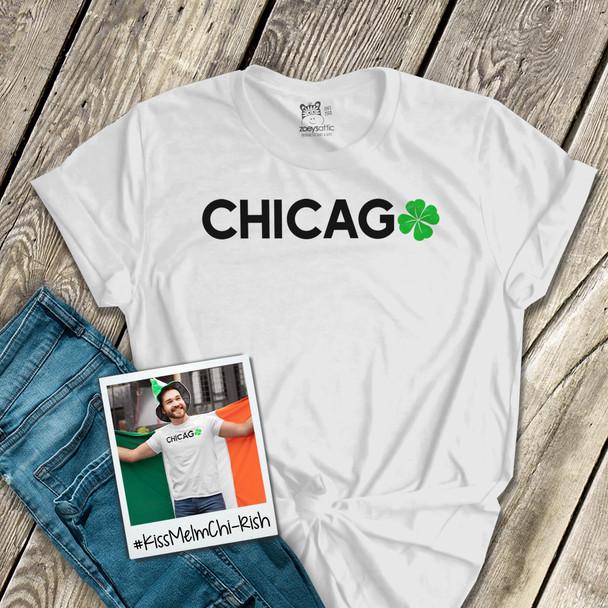 St. Patrick's Day Chicago shamrock unisex Tshirt
