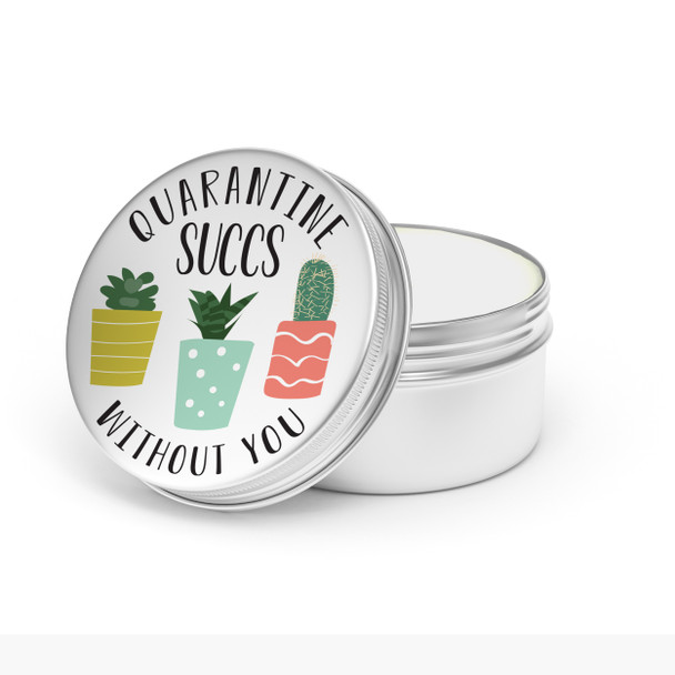 quarantine succs social distancing gift funny succulent candle funny gift in calming scent candle | fragrant candle home decor cndltin-005