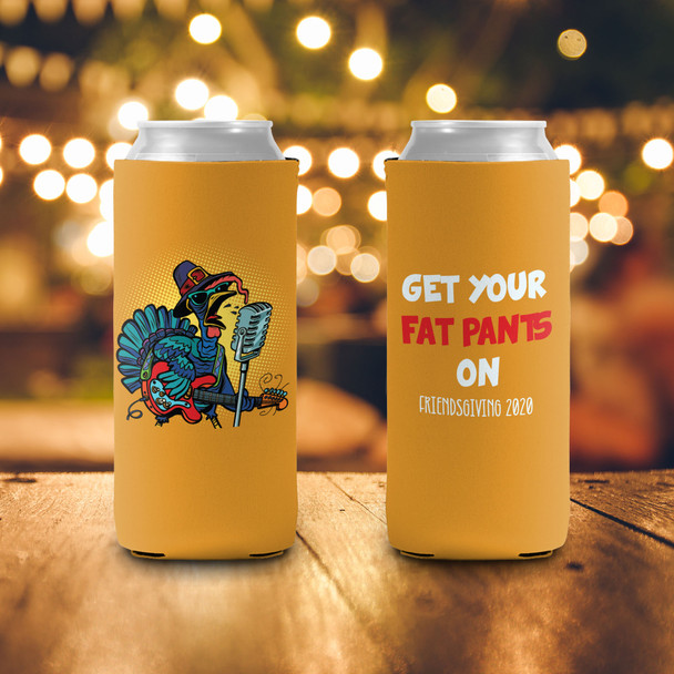 Thanksgiving friendsgiving get your fat pants on slim or regular size can coolie