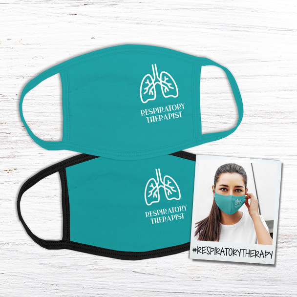 Respiratory therapist fabric face mask