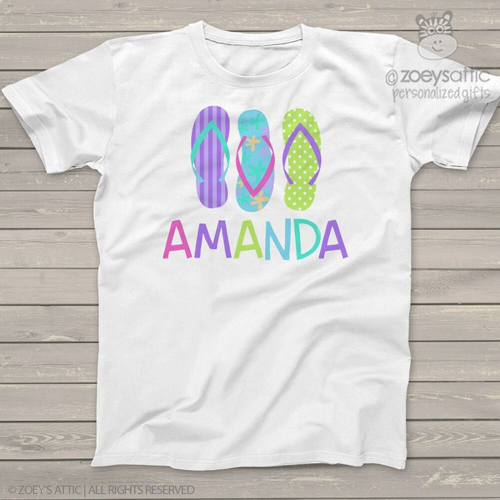 Summer flip flop Tshirt