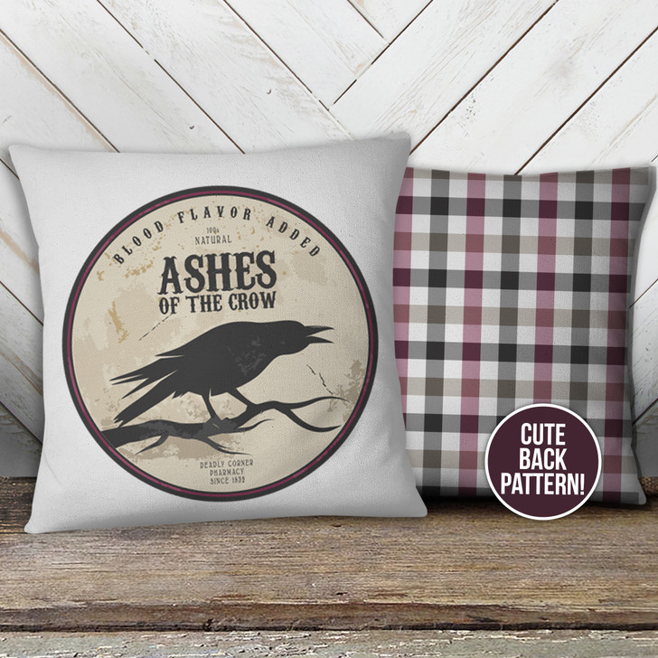 Halloween ashes of the crow pillowcase pillow