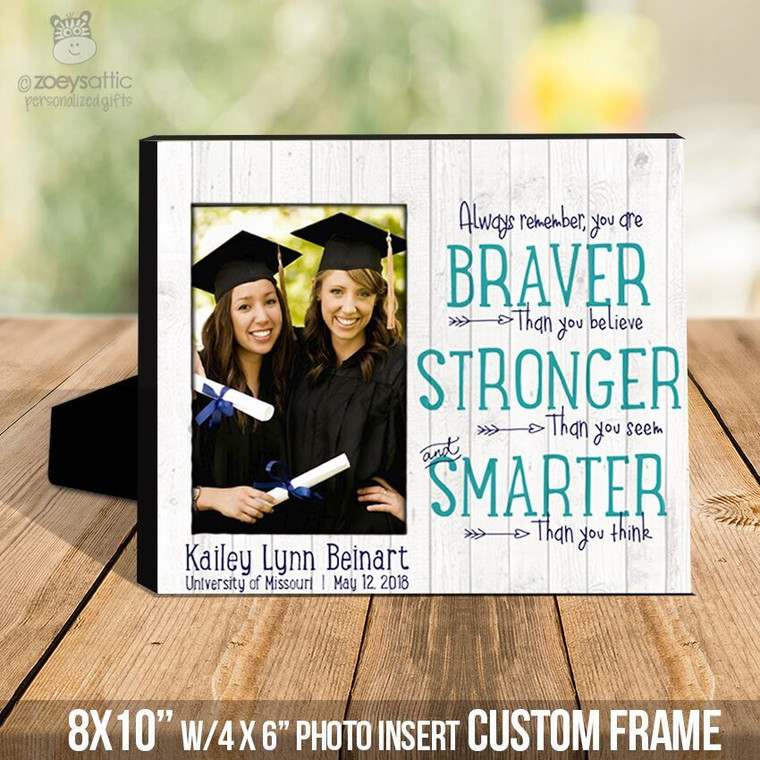 Graduation inspiration personalized photo frame