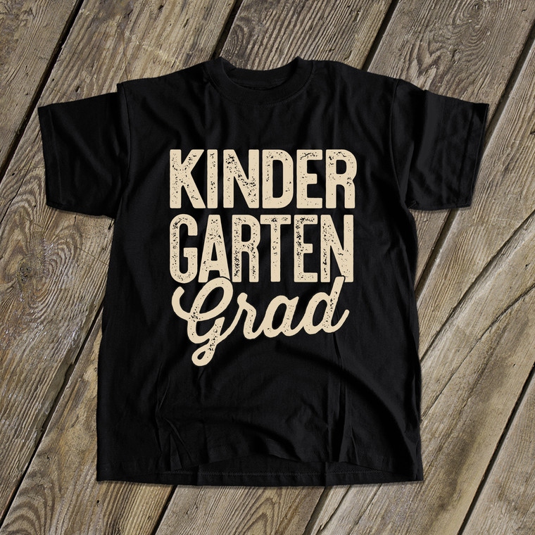 Graduation kindergarten grad DARK Tshirt