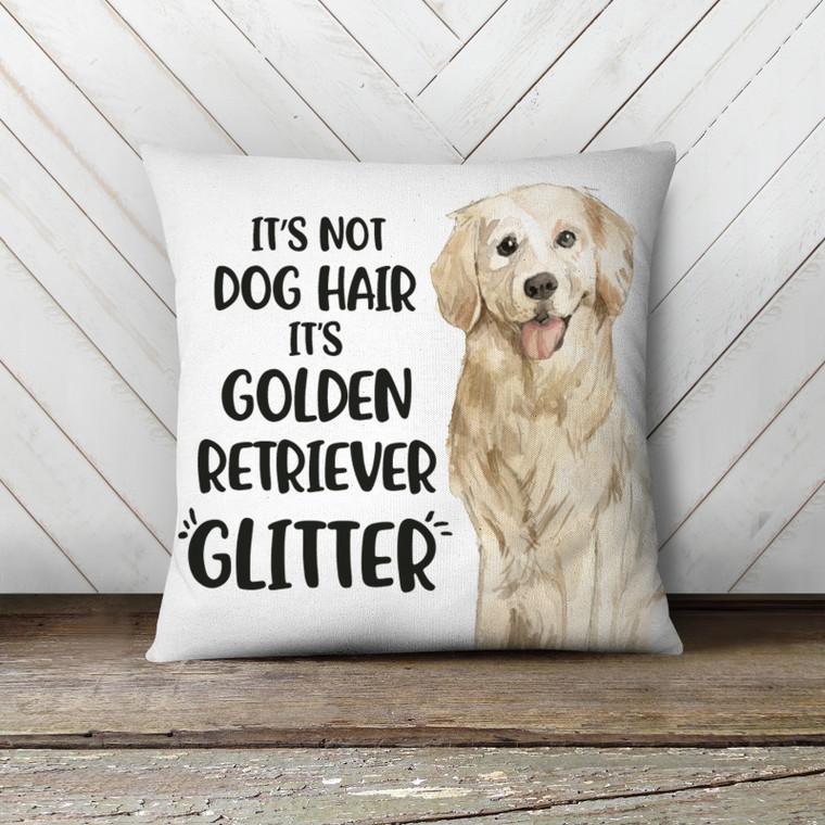 Golden retriever dog hair pillowcase pillow