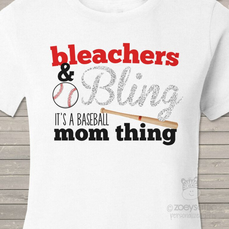 8134dc4fc personalized womens shirt, sparkly baseball mom, glitter shirt