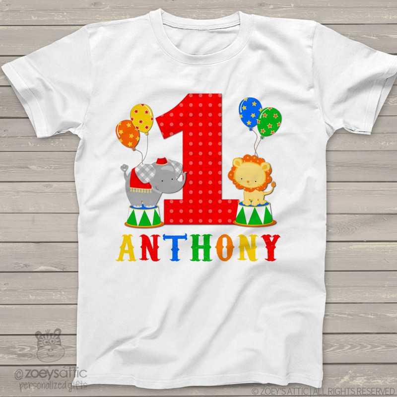 df6143b8 Top 5 First Birthday Shirts - zoey's attic personalized gifts