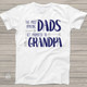 Amazing dads get promoted to grandpa Tshirt