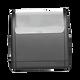 Open circle rectangular return address self inking stamp