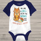 Mother's Day fox no one loves me like my mama boy RAGLAN bodysuit or shirt