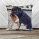 Pet dog or cat photo personalized decorative sequin pillowcase pillow
