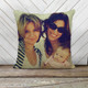 Family or friends favorite photo custom decorative sequin pillowcase pillow