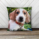Personalized pet photo dog cat throw pillowcase pillow