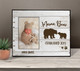 Mother's Day mama bear year established photo frame