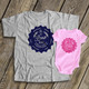 Brew dad micro brew baby shirt and bodysuit gift set