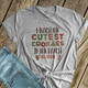 Christmas teacher cutest cookies in the batch personalized shirt