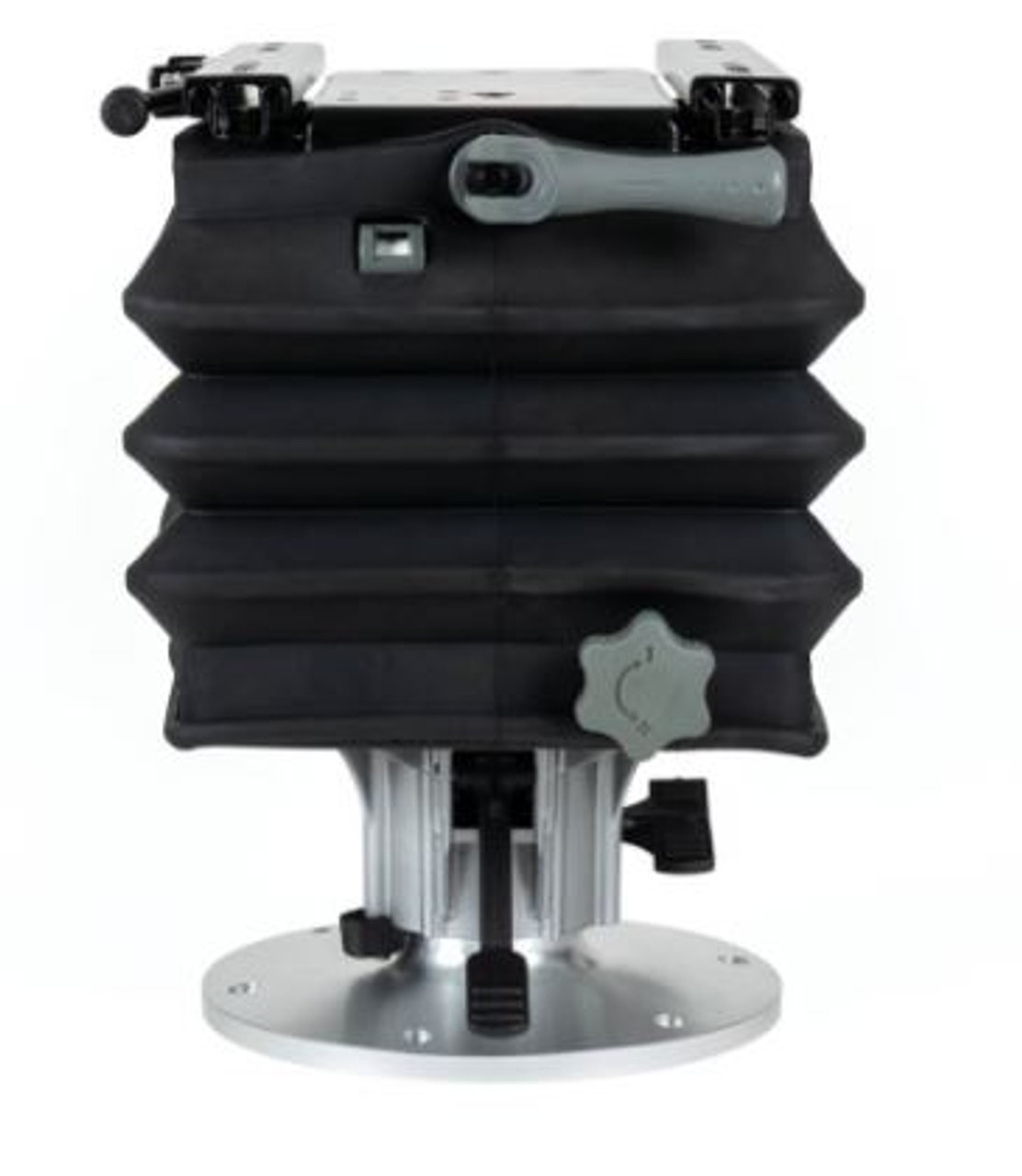 """SMOOTH MOVE ULTRA SUSPENSION BOAT SEAT WITH 4.75"""" PEDASTAL"""