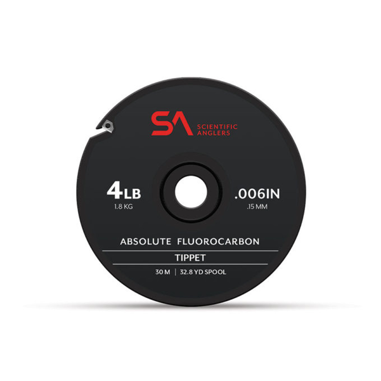 SA ABSOLUTE FLUOROCARBON  TIPPET 30M