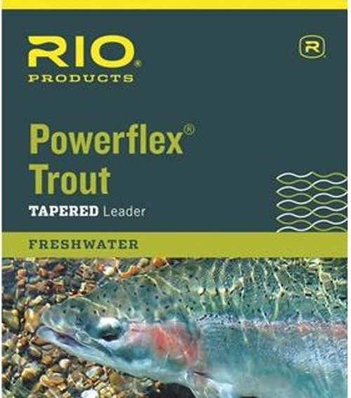 RIO POWERFLEX TROUT LEADER 3PK