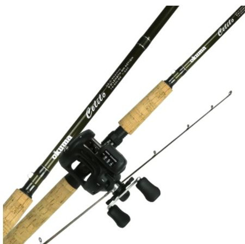 CELILO KOKANEE COMBO WITH LINE-COUNTER REEL