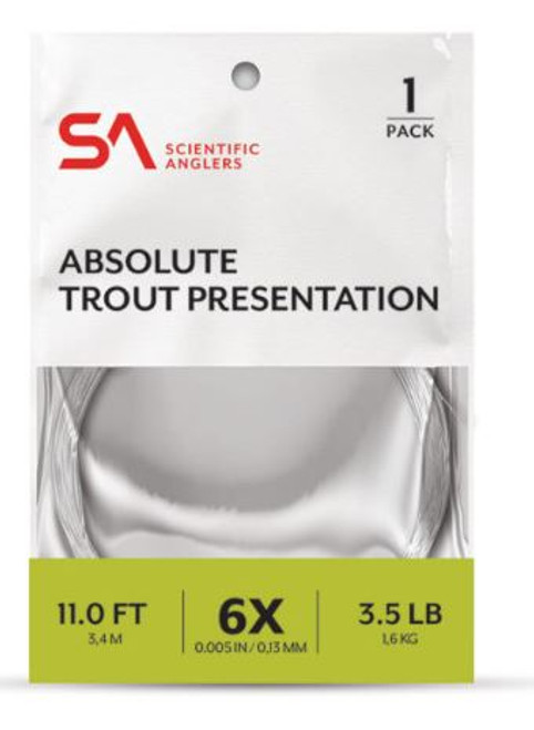 SA ABSOLUTE TROUT PRESENTATION 1 PACK