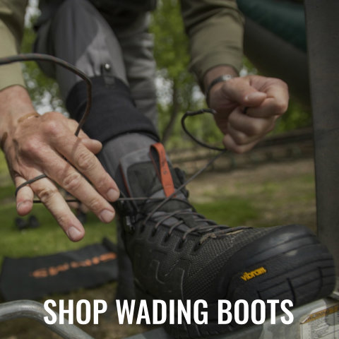 Shop Wading Boots from Simms, Orvis, and Korkers.