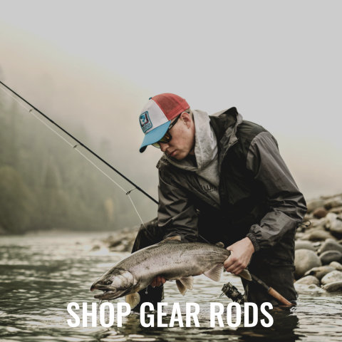 Rods from Luhr-Jensen, Shimano, 13 Fishing, G.Loomis, Daiwa, Fenwick, and more!