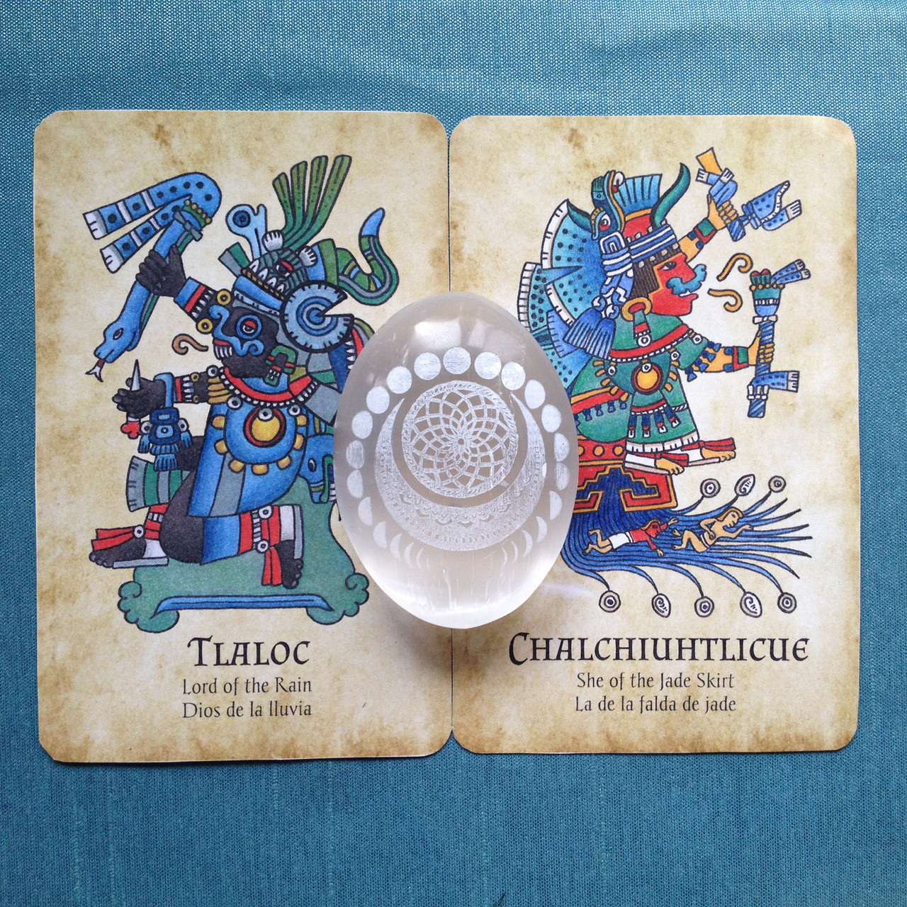 cards from The Jade Oracle