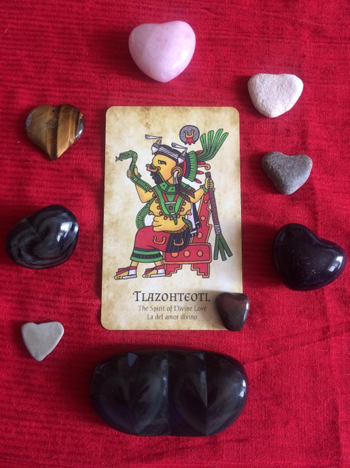 Tlazohteotl: The Spirit of Divine Love  includes 36 page full color PDF download and guided meditation audio file
