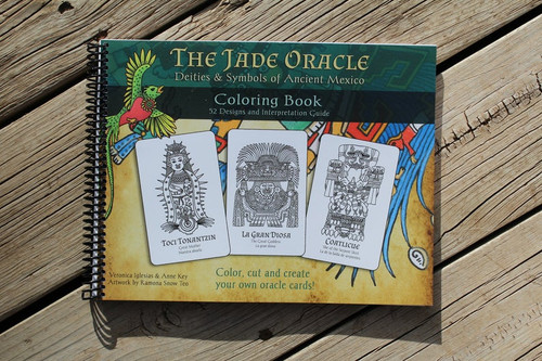 The Jade Oracle Coloring Book