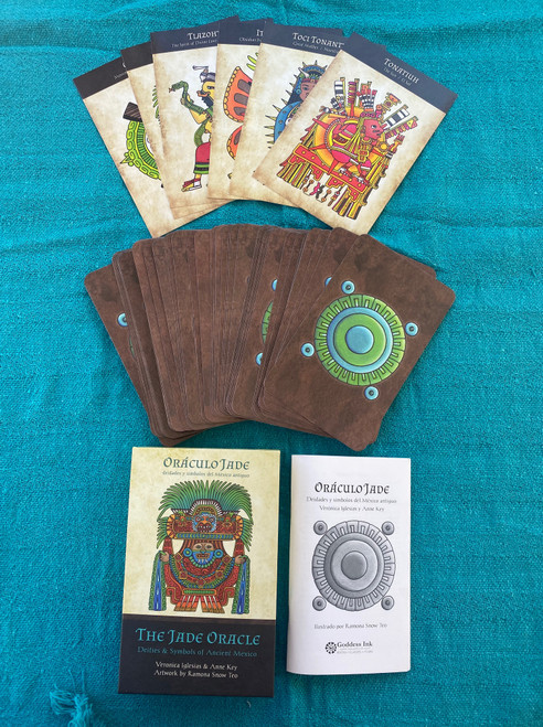 Jade Oracle deck and Altar Cards