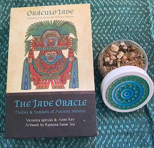 Jade Oracle deck and incense