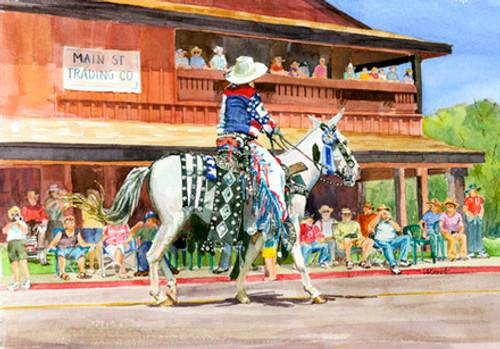 White Mule, Blue Ribbon