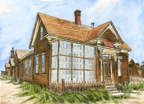 Cain House, Bodie