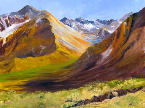 Mount Tom and Pine Creek Canyon