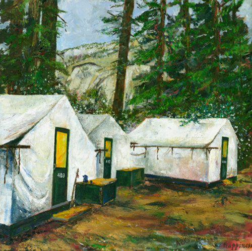 Curry Village Tent Cabins