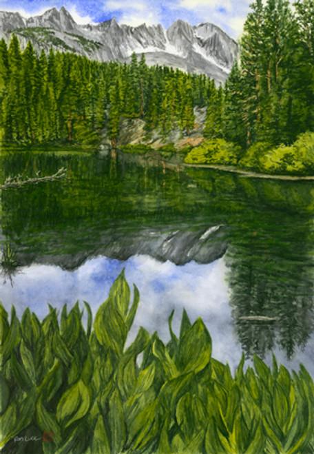 Emerald Lake, Mammoth, Ca